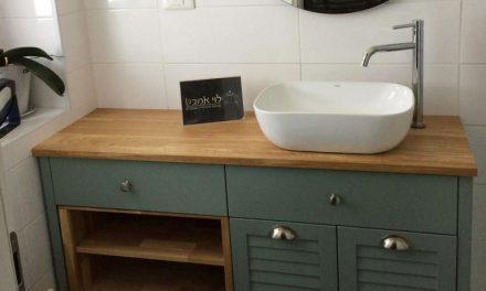 ארון אמבטיה לחדרי רחצה כפריים